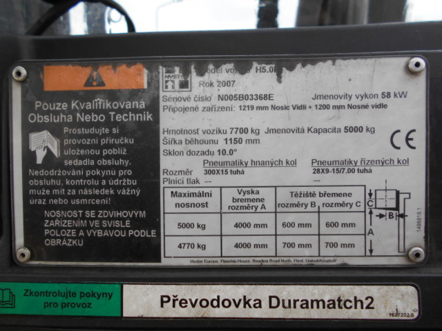 Hyster (ID 10572) - prodej - Car picture 10