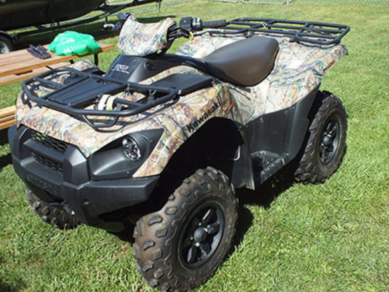 Kawasaki Brute Force 750 4X4I EPS CAMO  - prodej - Car picture 2